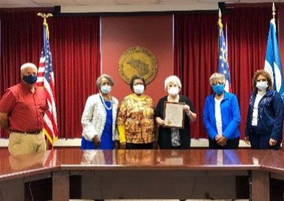 Retired Educators Day Proclamation Presentation