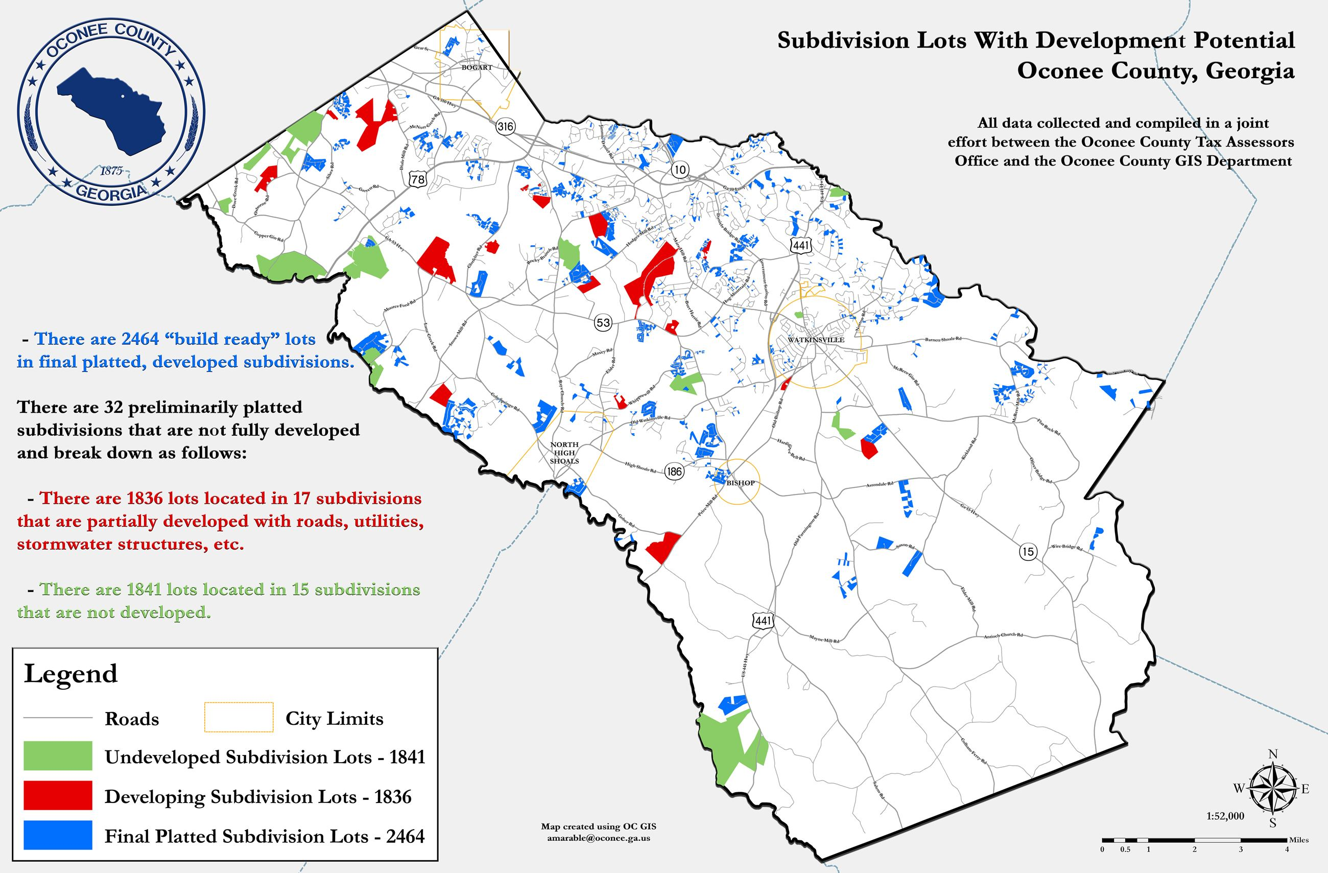 Oconee County Tax Map Camping Map