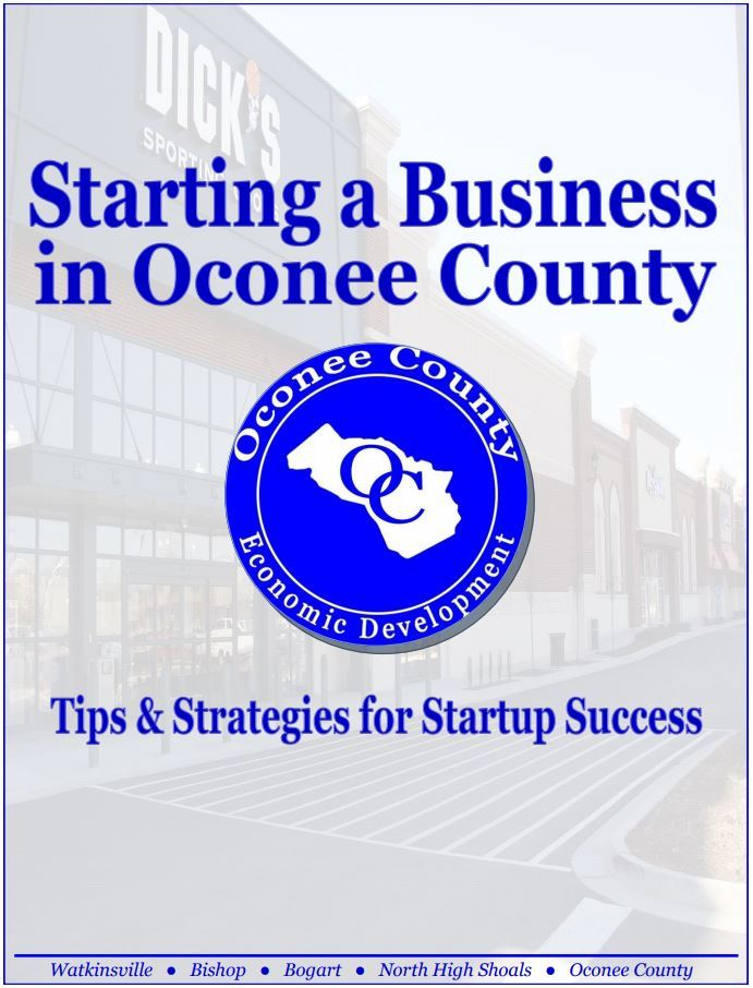 Starting a Business In Oconee County (PDF)