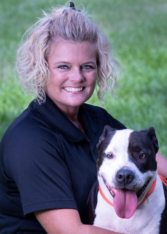 Animal Services Director with Dog