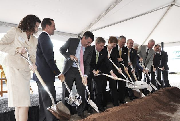 Caterpillar Plant Groundbreaking