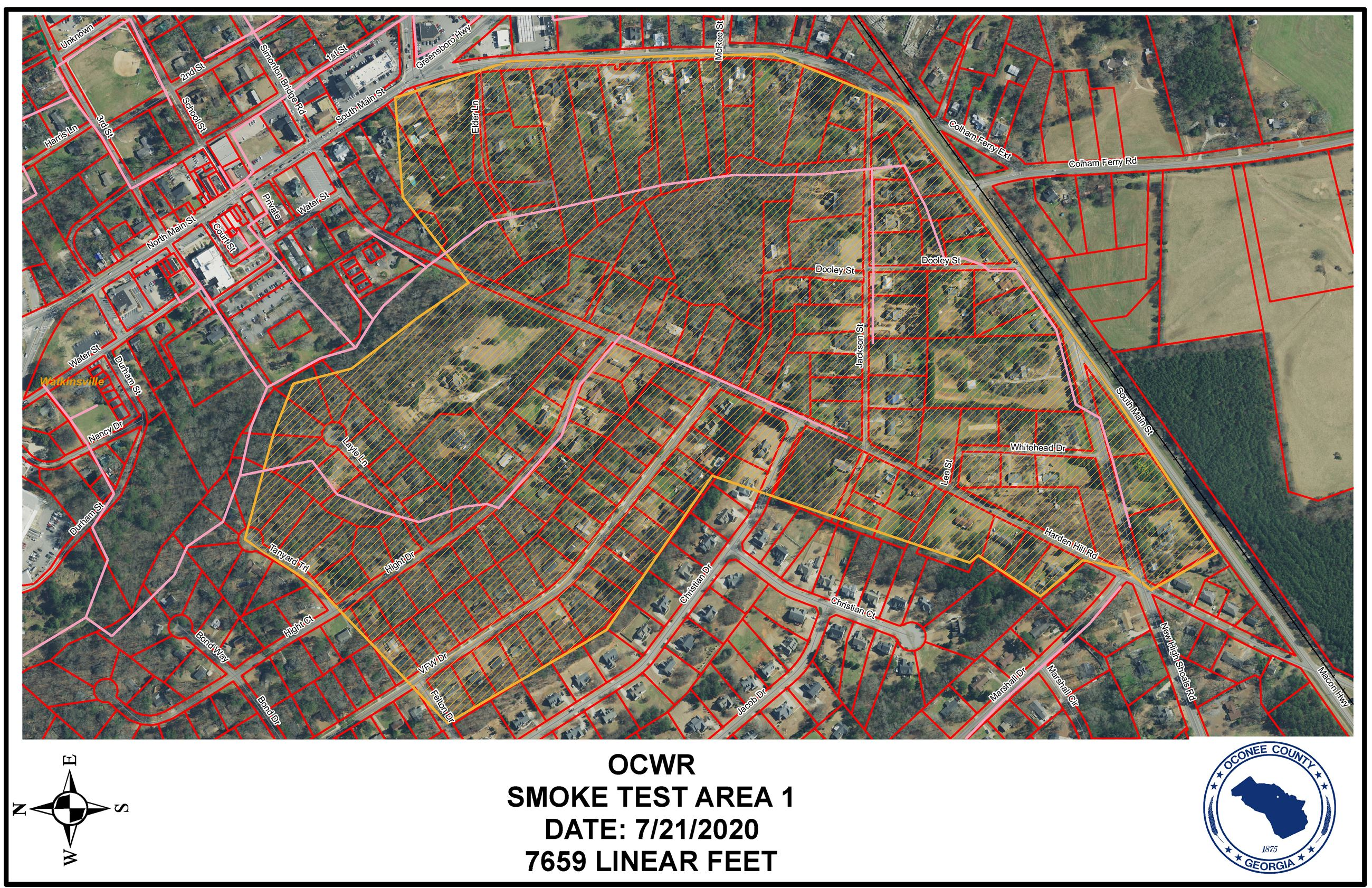 Link to Harden Hill Smoke Test Area Map Opens in new window