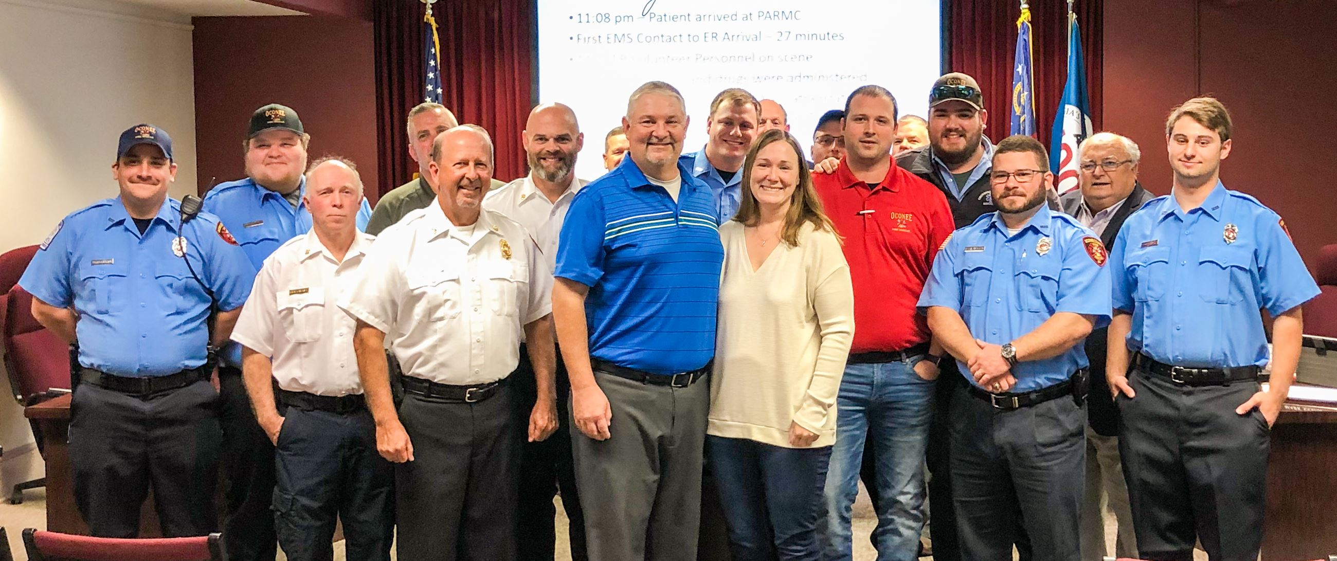 Fire Rescue Medical Responders Recognized at BOC Meeting
